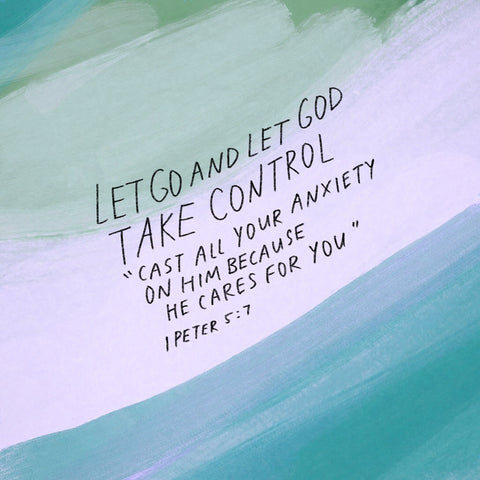 Let Go & Let God  - Encouraging short sermons and devotionals compiled by The Commandment Co