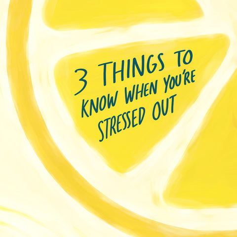 3 things to know when you are stressed out short sermon by The Commandment Co