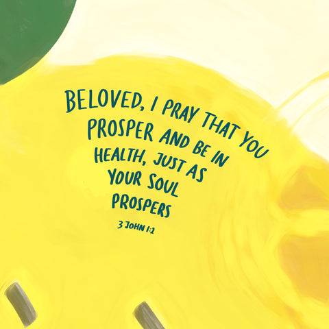 You prosper and be in health bible deals with mental depression