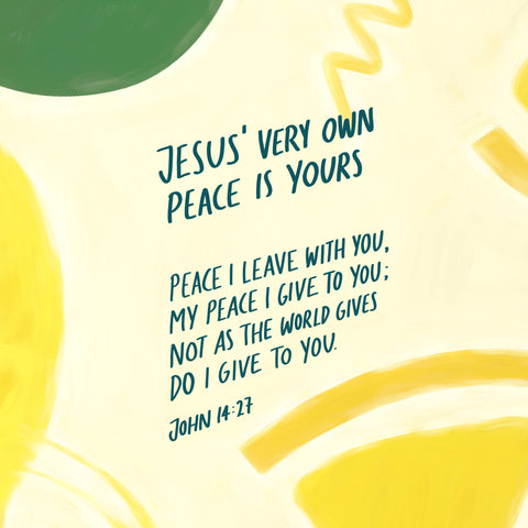Jesus very own peace is yours bible sermon for the mentally tired soul adapted from Decibel One