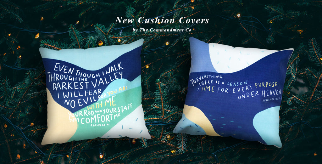 Cushion Covers just in time for Christmas! Just change to a new one will make your house look refreshed and anew