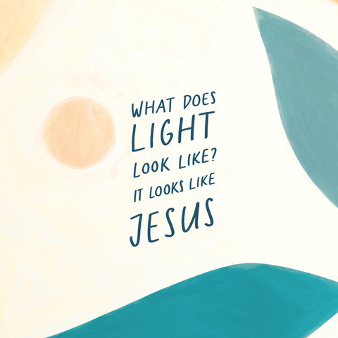 What does light look like? It looks like Jesus - Encouraging short sermons and devotionals compiled by The Commandment Co
