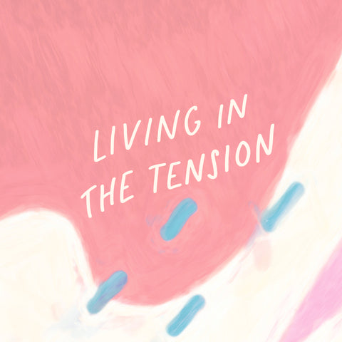 Living in the tension - An inspirational short sermon series by The Commandment Co