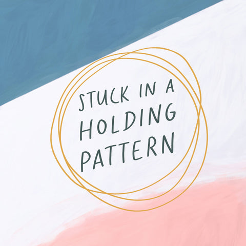 Stuck In A Holding Pattern - Encouraging short sermons and devotionals compiled by The Commandment Co