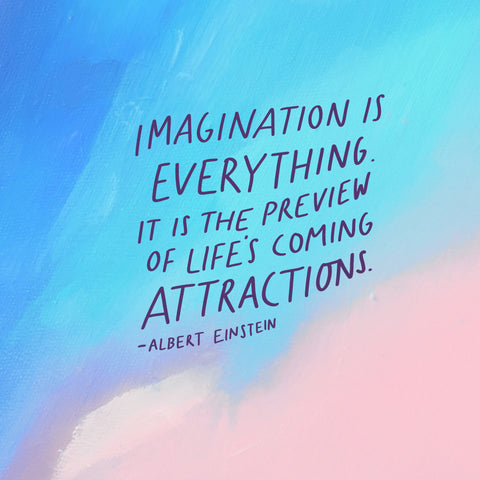 imagination is everything. it is the preview to life's coming attractions - Albert Einstein - Encouraging short sermons and devotionals compiled by The Commandment Co