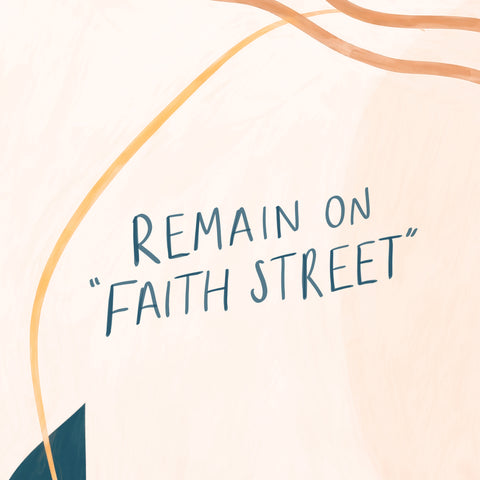 """Remain on """"Faith Street"""" - Encouraging short sermons and devotionals compiled by The Commandment Co"""