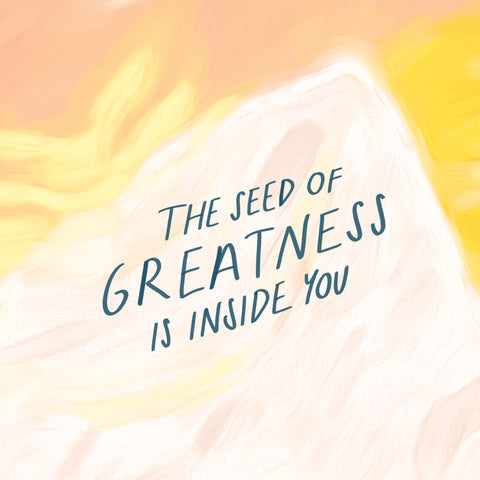 The seed of greatness is inside of you! - Encouraging short sermons and devotionals compiled by The Commandment Co