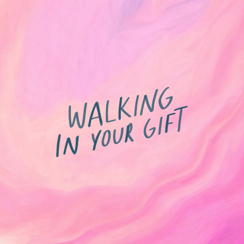 Walking in your gift - Encouraging short sermons and devotionals compiled by The Commandment Co