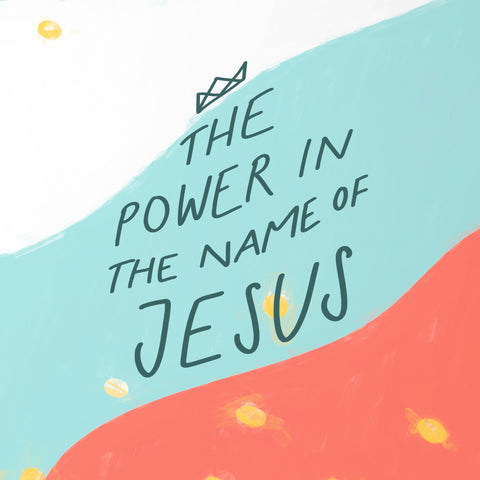 """the power of """"in Jesus' name"""" - Encouraging short sermons and devotionals compiled by The Commandment Co"""