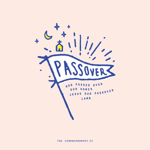 Happy Pesach Happy Passover by The Commandment Co