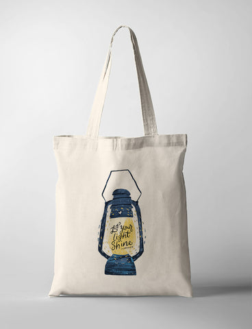 YMI Today x TCCO tote bag design Let your light shine
