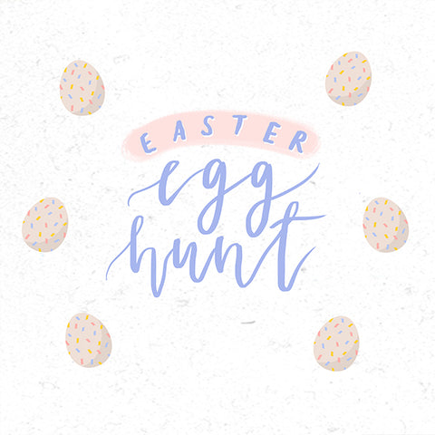 Easter egg hunt with giveaway bt The Commandment Co