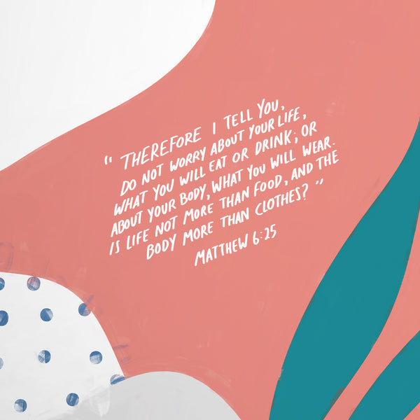 Bible verse Christian graphic design