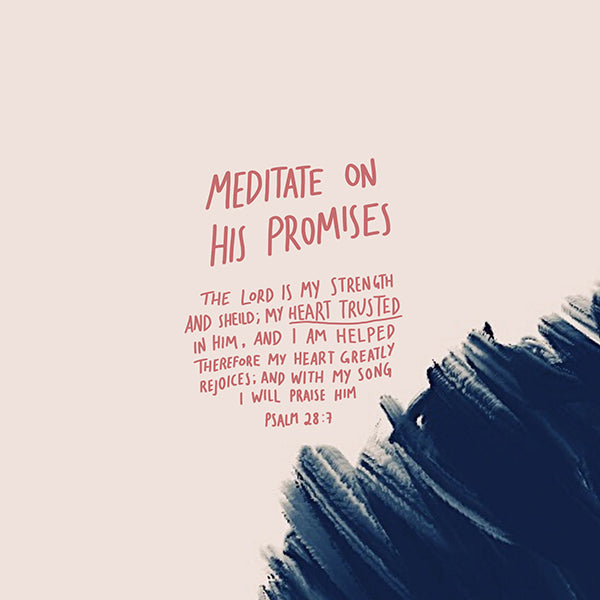 Meditate on God's Promises