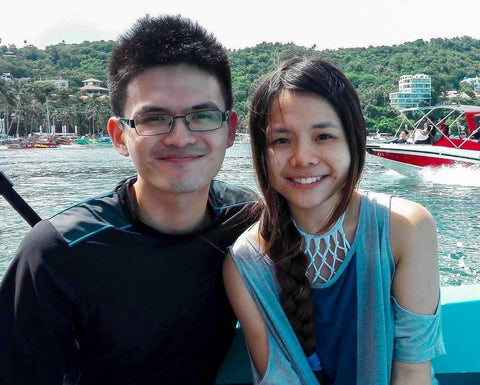 Natalie Khoo and her late older brother, Brian Khoo - See you again: Real life story - The Commandment Co