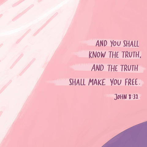 And you shall know the truth, and the truth shall make you free ~ John 8:32 - The Commandment Co's Short sermon series