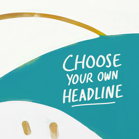 Choose your own headline - An inspirational short sermon series by The Commandment Co