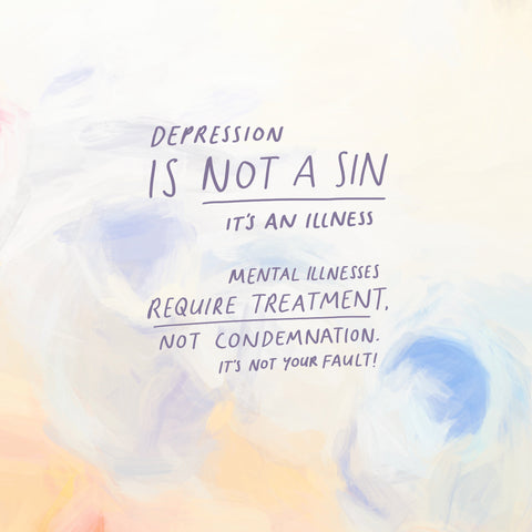 Depression is not a condemnation - The Commandment Co's Short Shermon Series - Encouraging Daily Christian Devotionals
