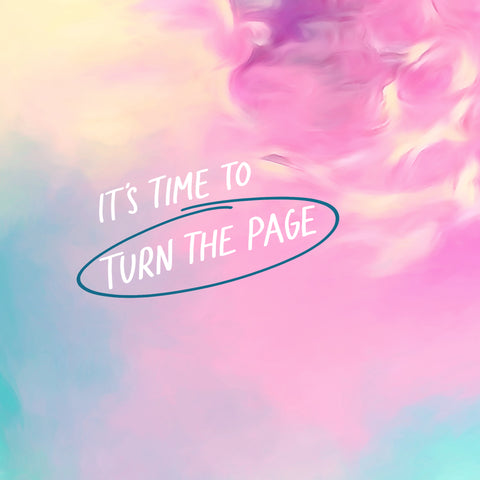 It's time to turn the page - The Commandment Co's encouraging and inspirational short sermon series