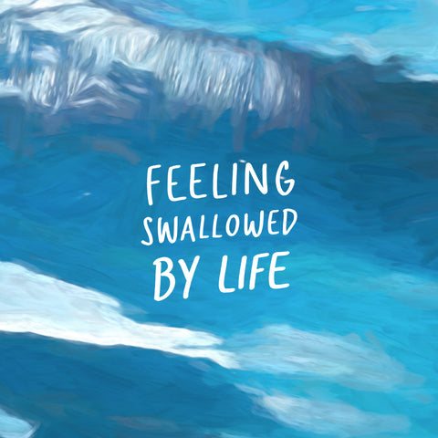 Feeling swallowed by life - An encouraging short sermon series by The Commandment Co