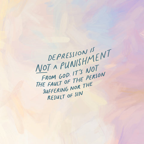 Depression is not a punishment from God - The Commandment Co's Short Sermon Series: Heartening daily devotionals to uplift your day