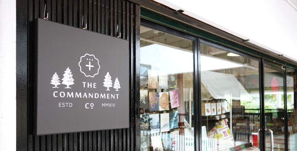 The Commandment Co Contemporary Modern Christian Gift Shop Store