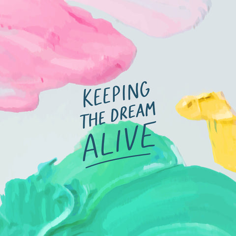 Keeping the dream alive - Inspirational short sermon series to keep you going by The Commandment Co
