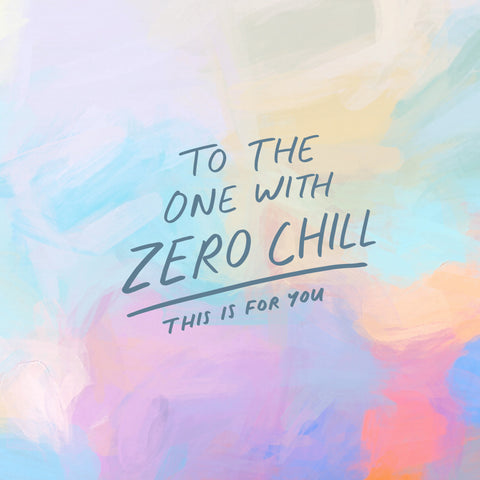 To the one with zero chill - this is for you : Short sermon series with The Commandment Co