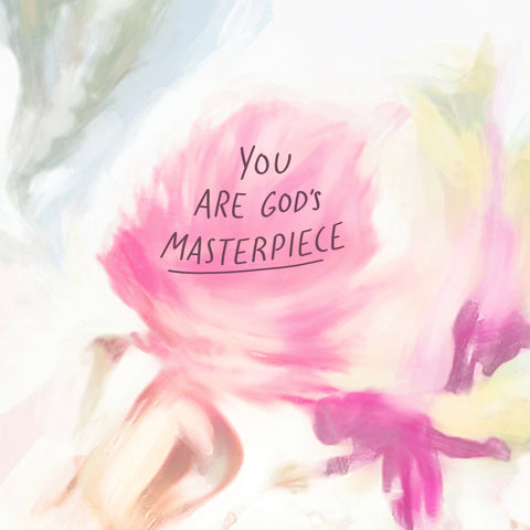 You are God's masterpiece - Encouraging devotionals from The Commandment Co's Short sermon series