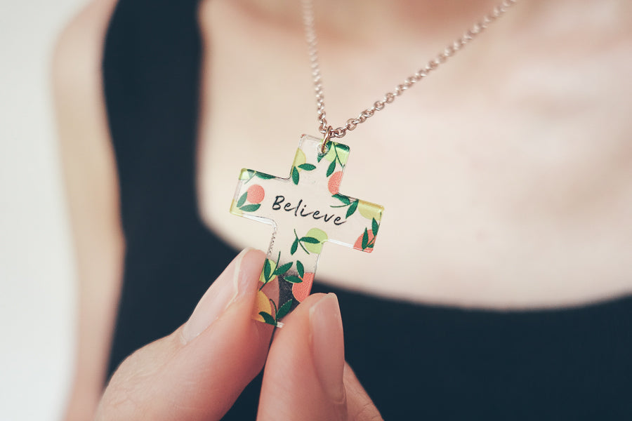 Believe {Cross Necklace}
