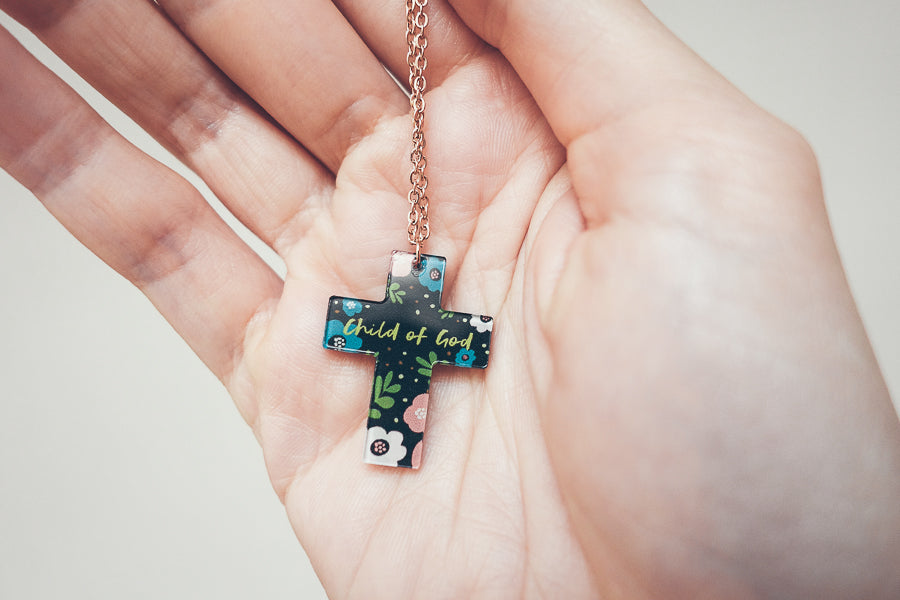 Child of God {Cross Necklace}