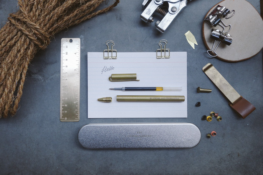 Brass pen set makes it perfect for gifting