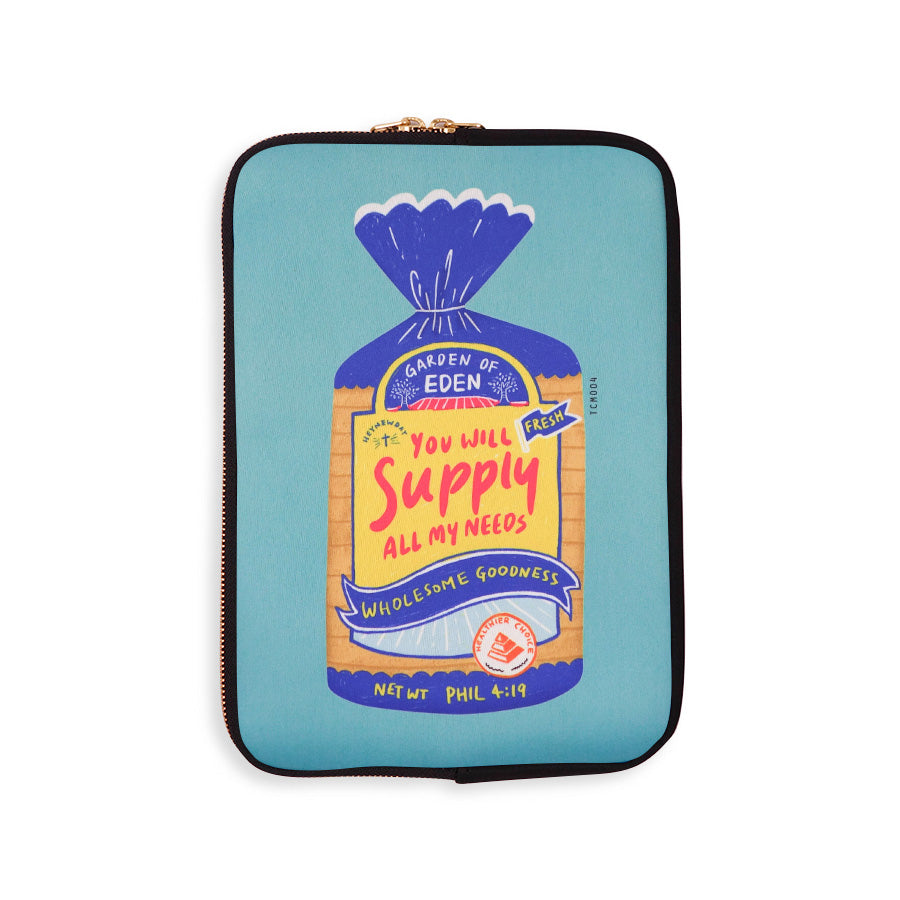 Wholesome Bread | Laptop Sleeve {LOVE SUPERMARKET}