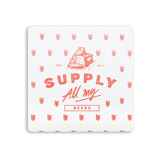 Quality Christian gift coaster You will supply all my needs
