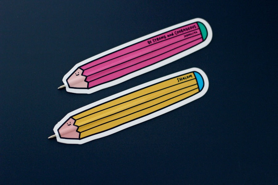 Doodle happily with these cute bookmark pens! Collect them all!