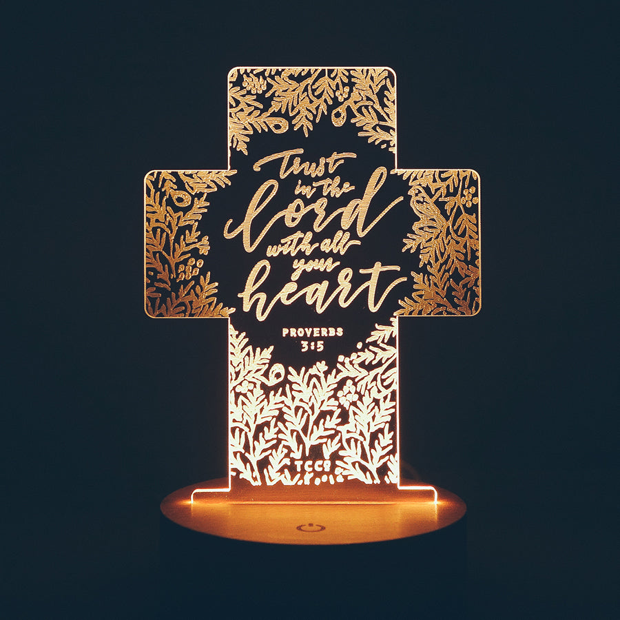 Trust In The Lord {Night Light}