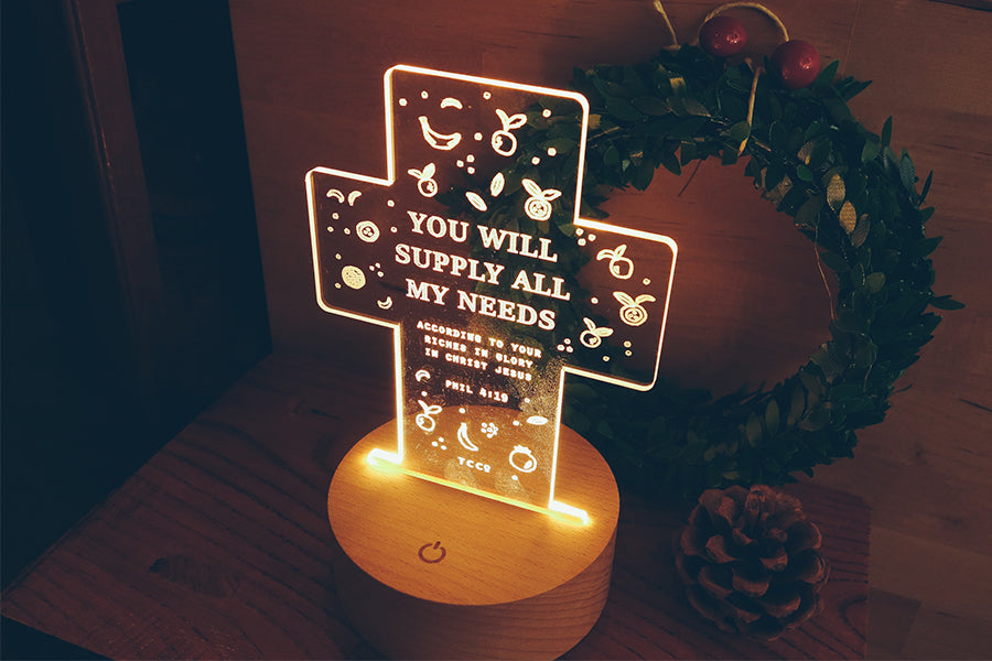 You Will Supply All Our Needs {Night Light}