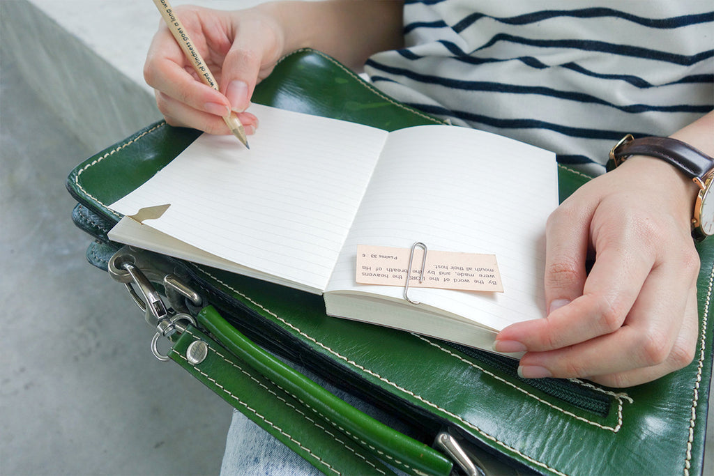 Our journals will keep your church notes, plans and creations safe. Dots, line, grid or just blank pages