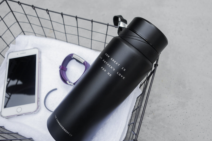 Vacuum flask can be handy companion when exercising