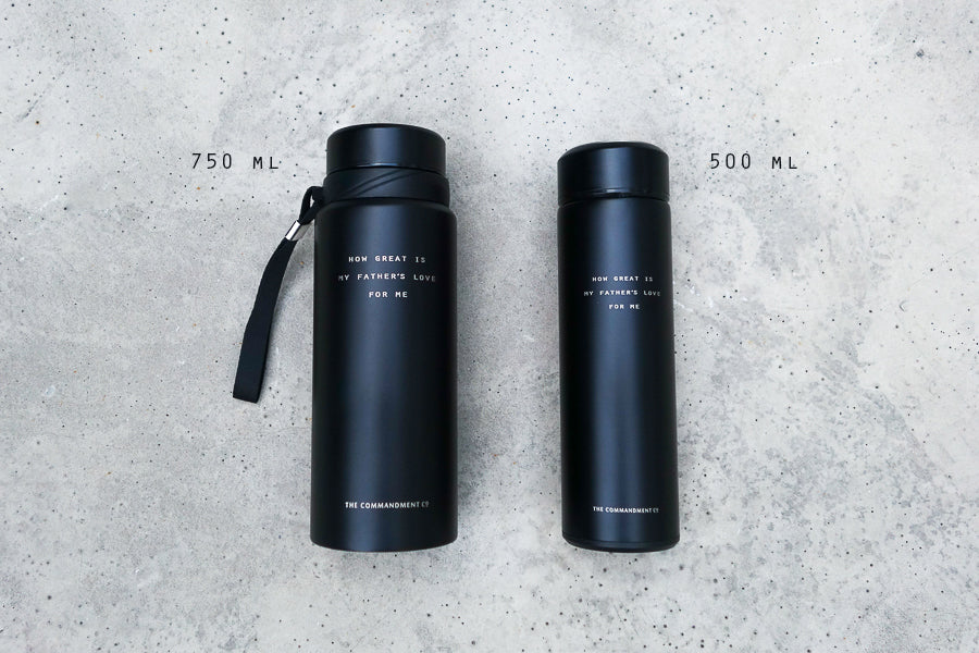 Available in two sizes, 750 ml or 500ml