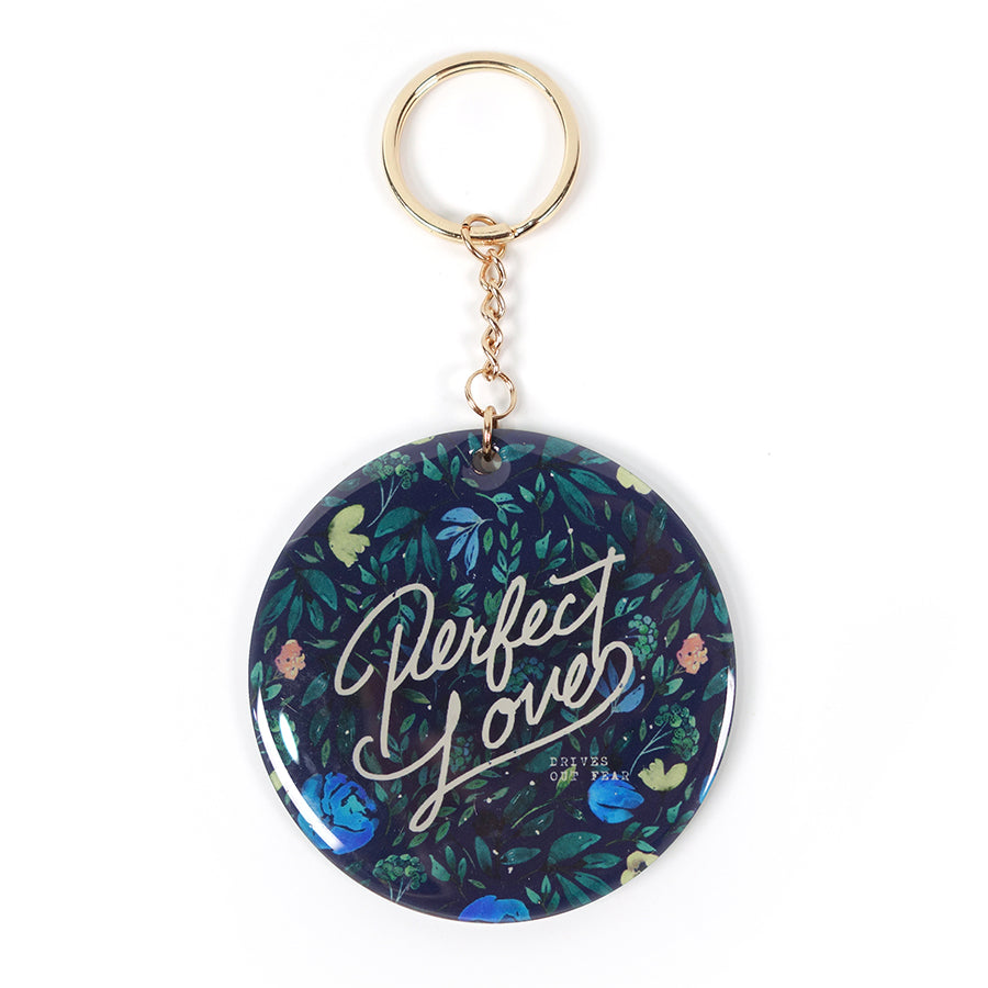 Perfect love bag accessories key ring by The Commandment Co