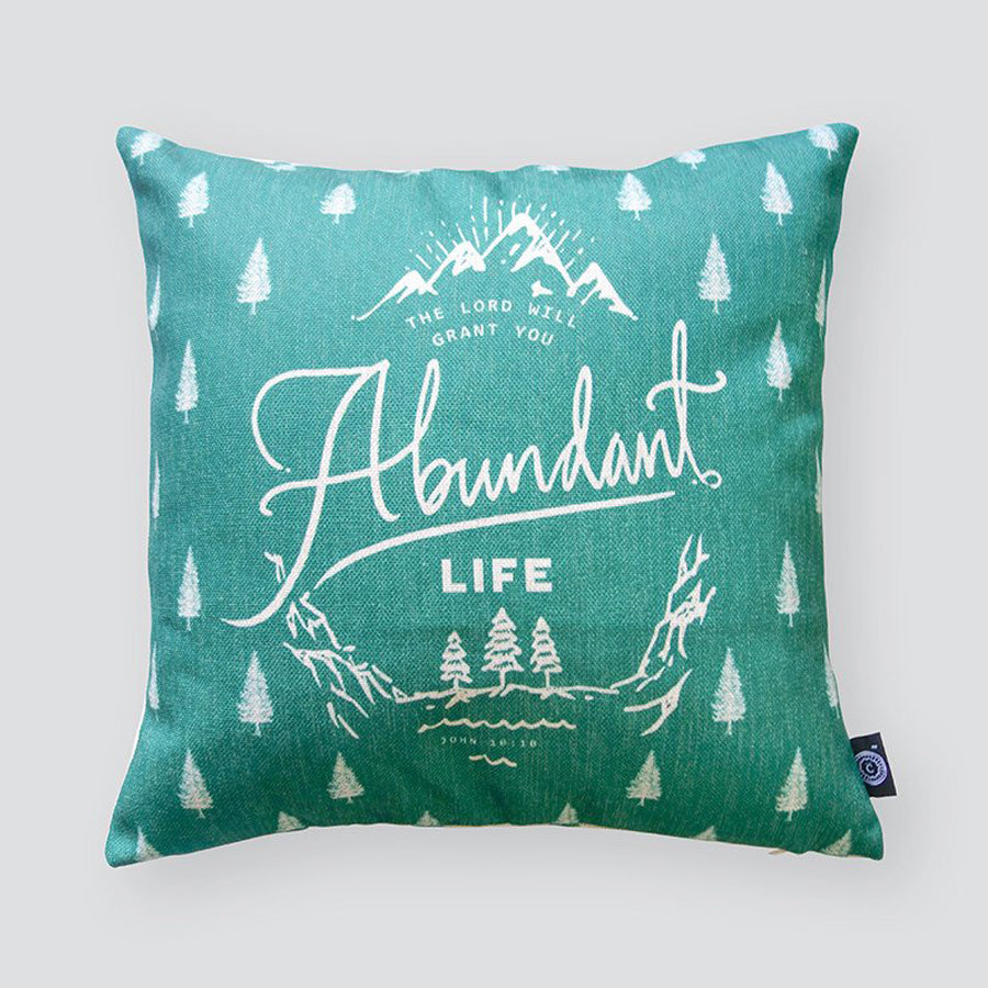 Abundant Life {Cushion Cover}