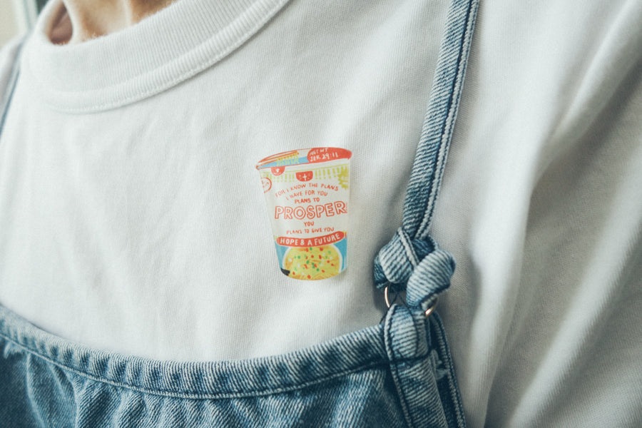 Cup Noodles Prosper {LOVE SUPERMARKET Pin}