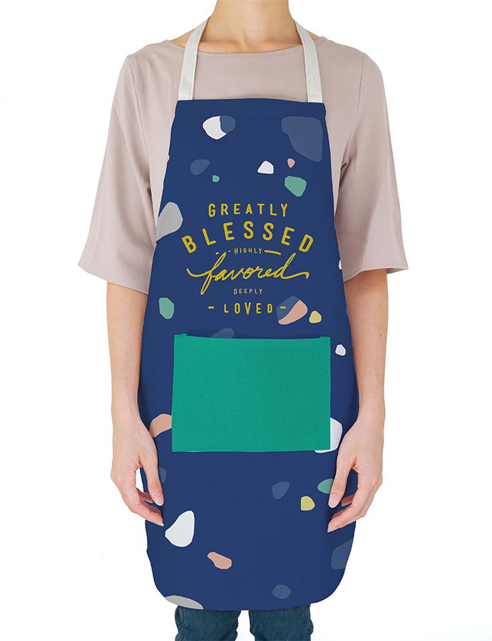 Greatly Blessed Highly Favored Deeply Loved {Apron}