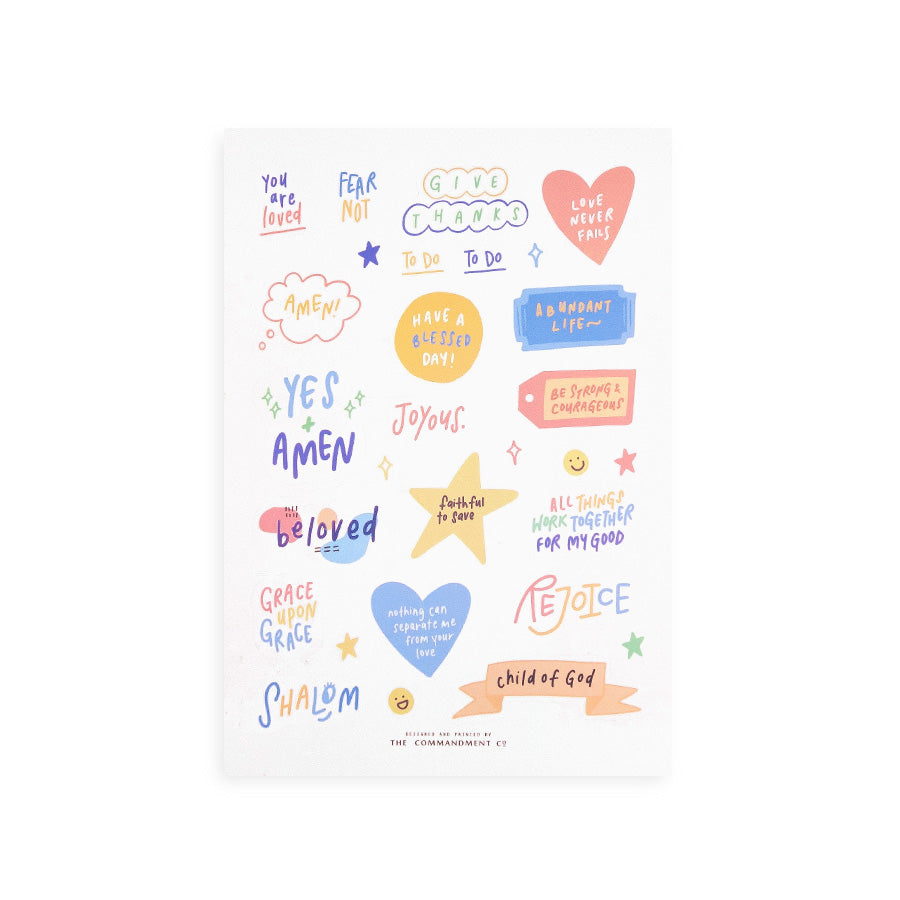 Rejoice | Journaling Sticker Sheet