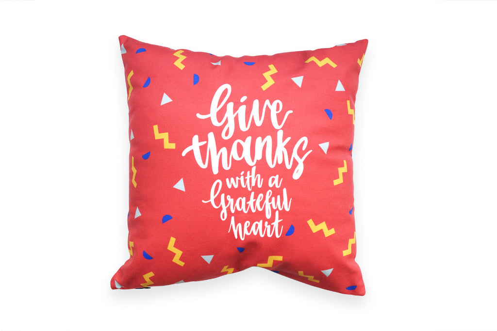 Commandment_Co_Cushion_Cover_The back of the cushion cover is still the dame design but in red