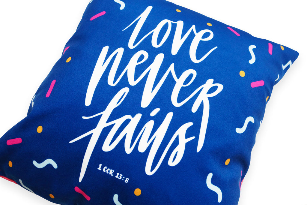 Commandment_Co_Cushion_Cover_Design_love_never_fails_1_cor_13_8