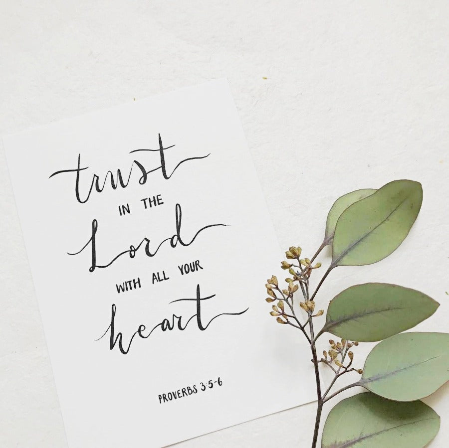 Trust in the Lord | Artprints