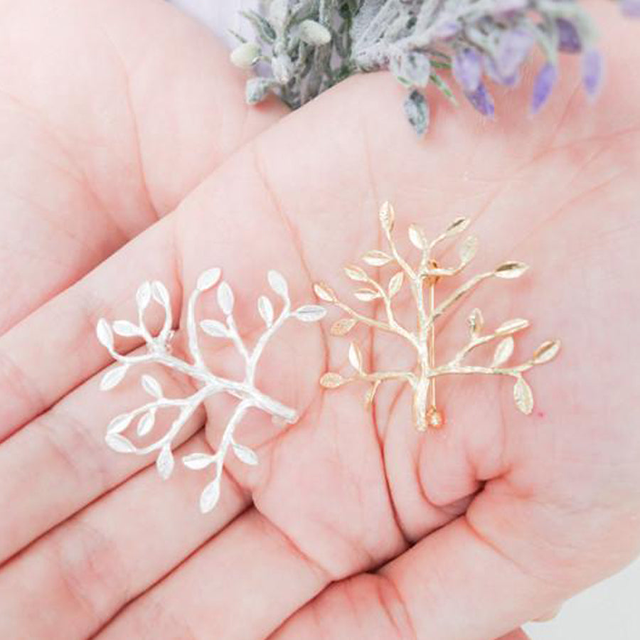 Fruitful tree pin. Can act as a brooch and other fashion accessories