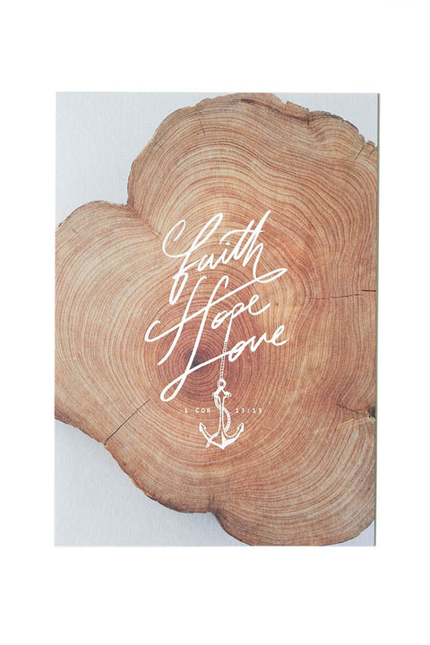 Faith, Hope, Love {Card}